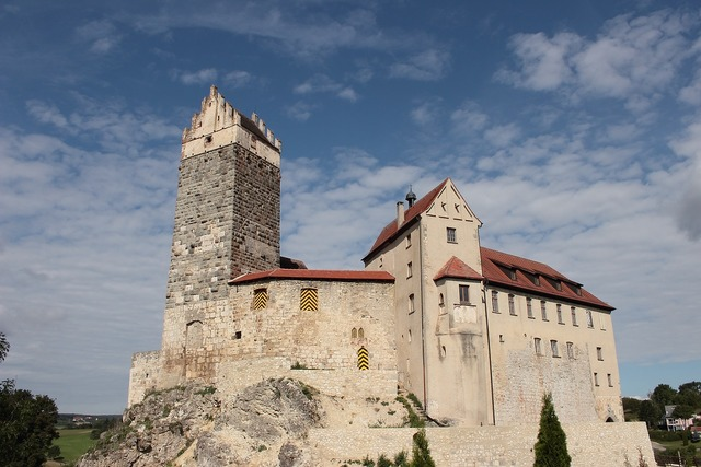 Katzenstein castle burg katzenstein.
