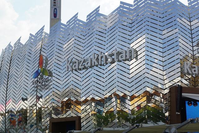 Kazakhstan fair building, architecture buildings.
