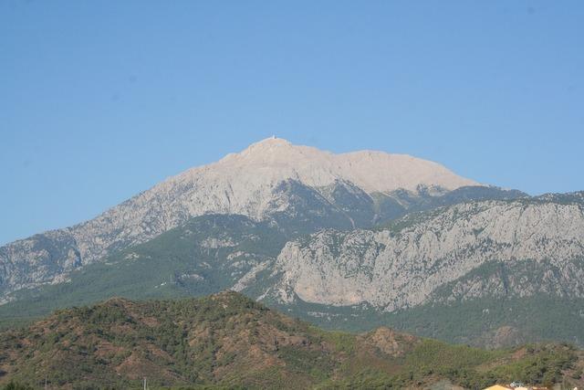 Kemer turkey mountains.