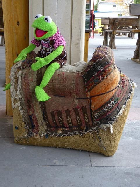 Kermit frog green, emotions.