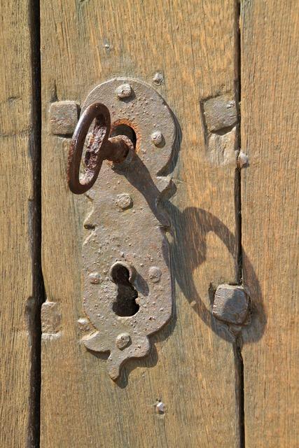 Key key hole stainless.