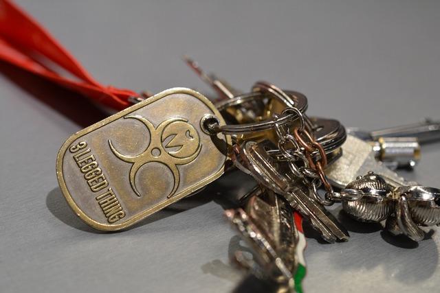 Key ring keys bunch, transportation traffic.