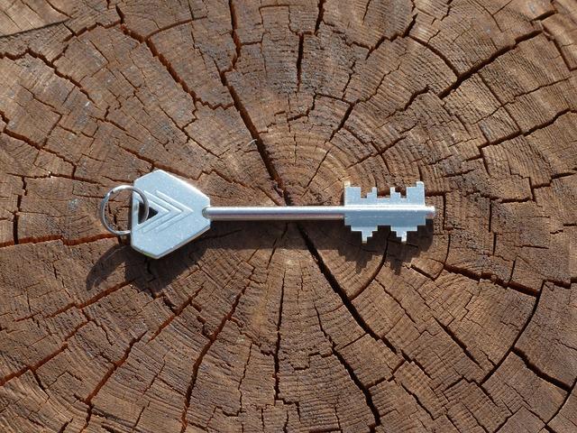 Key safe key door key.