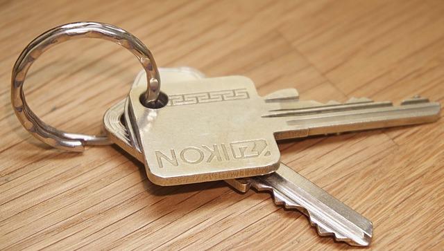 Keys key ring security.