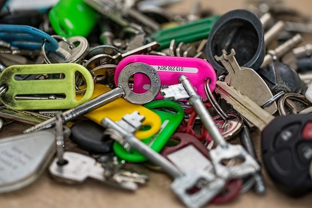 Keys open locks security.