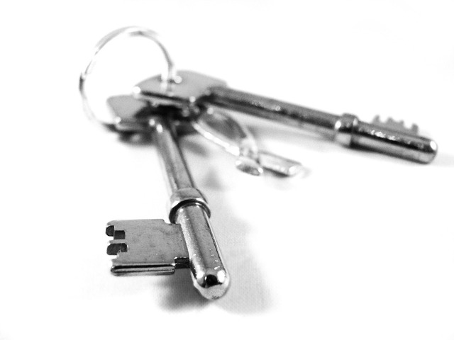 Keys silver security, architecture buildings.