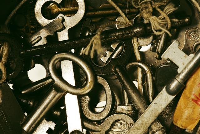 Keys unlock security.