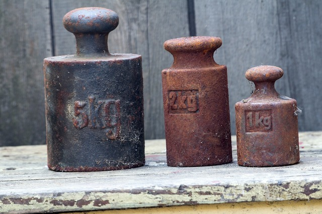 Kg weights stainless.
