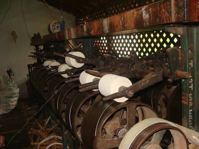 Khadi coarse cloth garag.