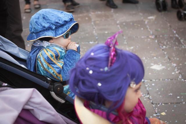 Kid carnival venice.