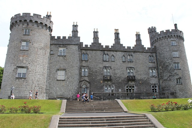 Kilkenny castle ire, places monuments.