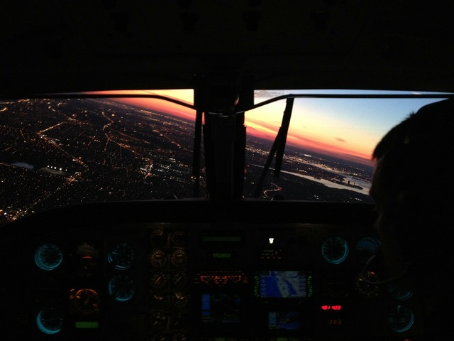 King air philadelphia approach.