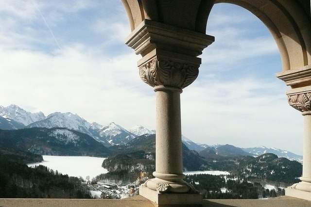 King ludwig the second bavaria castle neuschwanstein, places monuments.