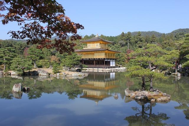 Kinkaku ji kyoto japan.