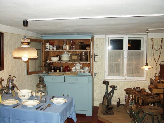 Kitchen old 19 century.