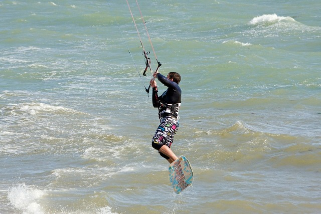 Kite surfer kite surfing surfer, travel vacation.
