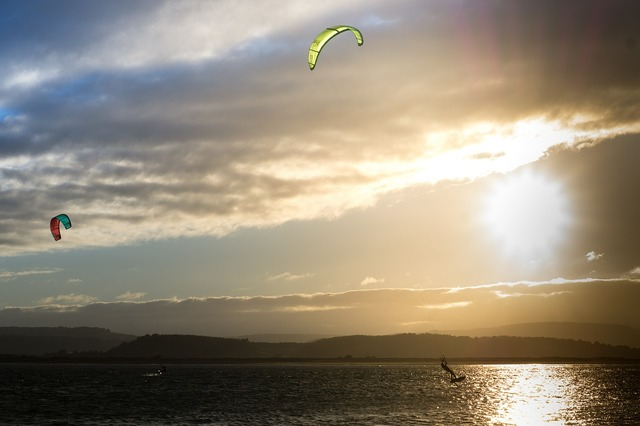 Kite surfing kite exmouth, sports.