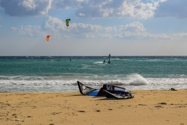 Kite surfing sport surfing, sports.