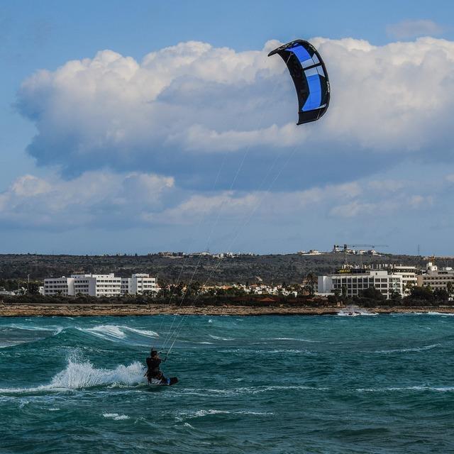 Kite surfing sport surfing, sports.