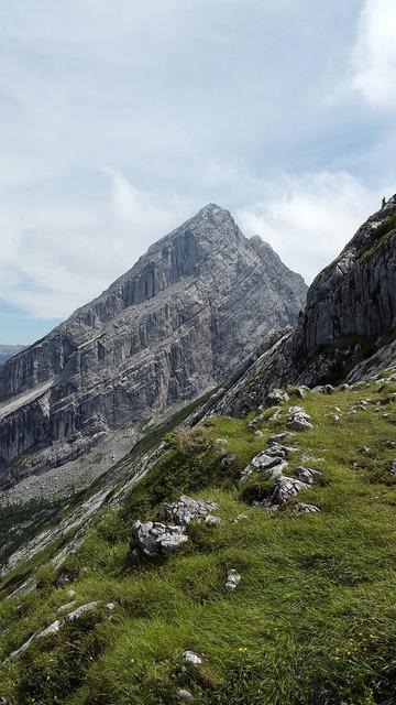 Kleiner watzmann summit watzmannfrau.