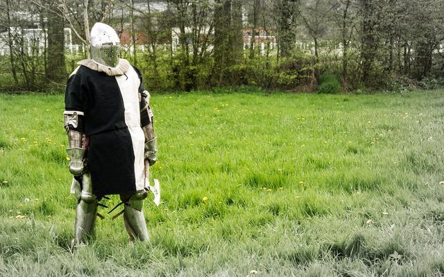 Knight armor medieval.