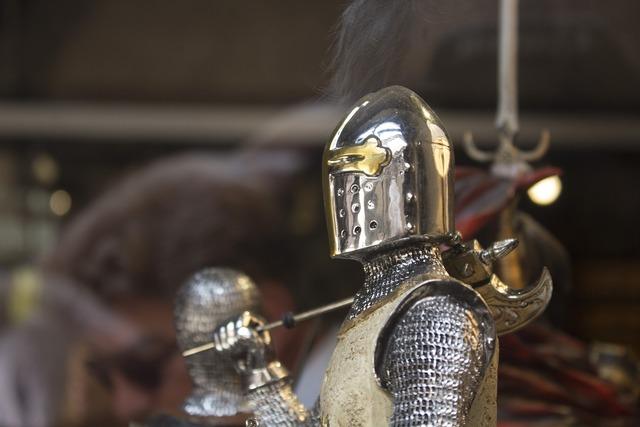 Knight castle armor.