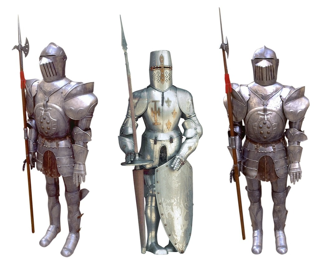 Knight crusader rider, travel vacation.