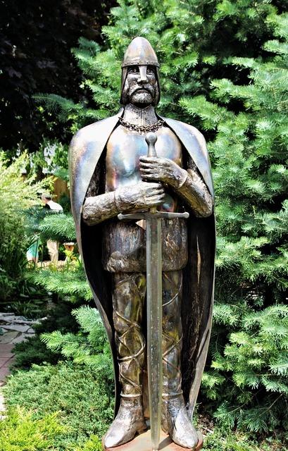 Knight crusader warrior.