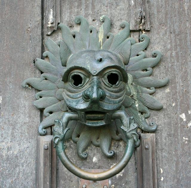 Knocker door doorknocker, architecture buildings.