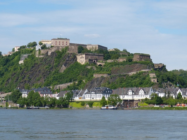 Koblenz wall fortress, places monuments.