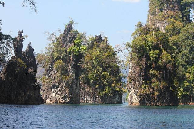 Koh sok national park thailand natural scenery.