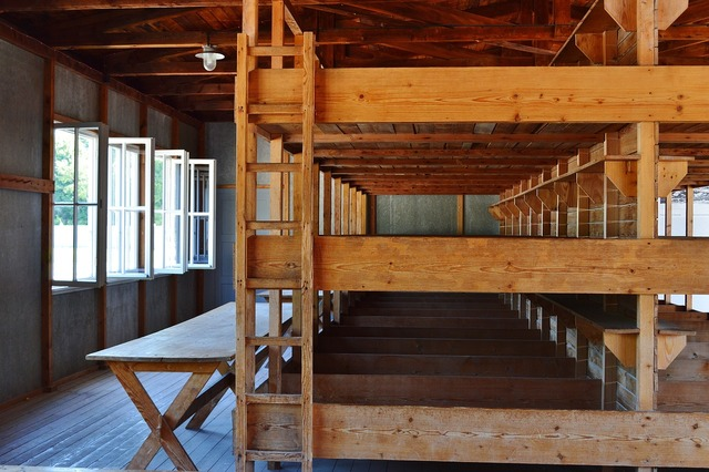 Konzentrationslager dachau bedded baracke, places monuments.