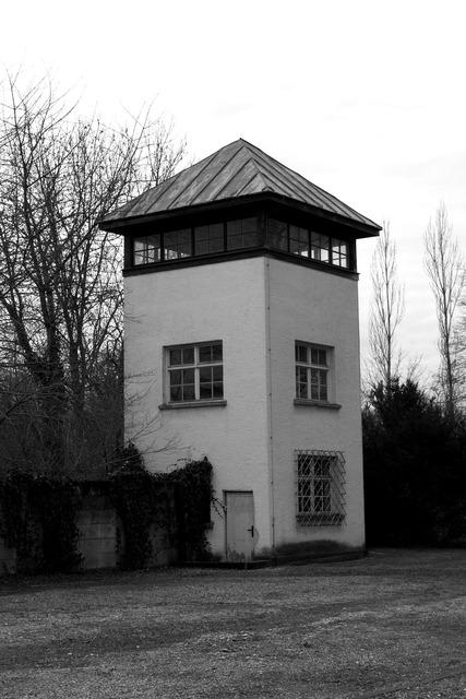 Konzentrationslager dachau watchtower.