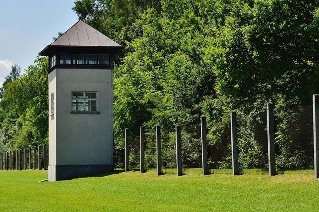 Konzentrationslager dachau watchtower, places monuments.