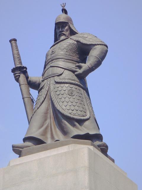 Korea building monument, architecture buildings.
