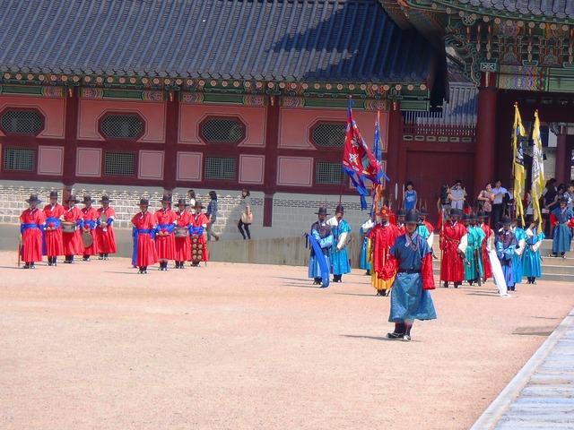 Korea monument seoul, architecture buildings.