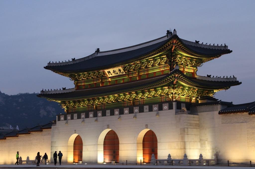 Korea sejongno gwanghwamun, travel vacation.