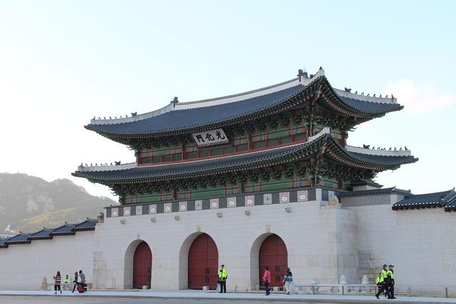 Korea seoul gwanghwamun.