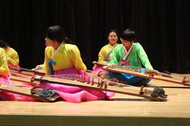 Korean music hanbok, music.