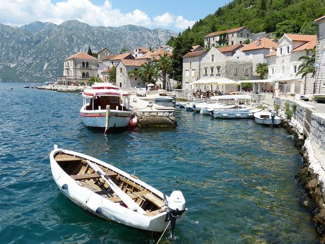 Kotor perast montenegro.