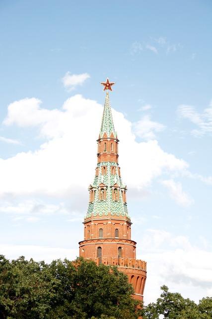 Kremlin golden dome, architecture buildings.