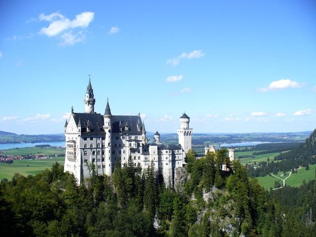 Kristin castle bavaria, architecture buildings.