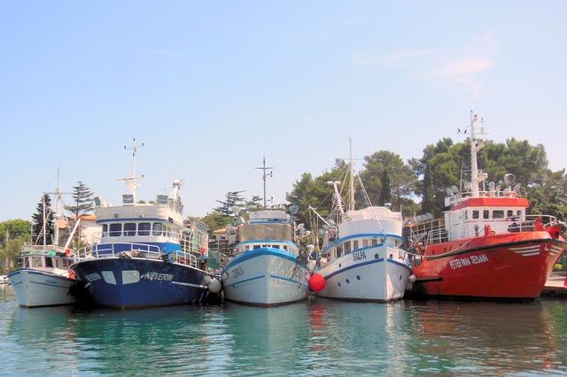 Krk port croatia.