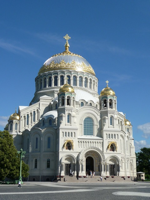 Kronshtadt summer cathedral, places monuments.