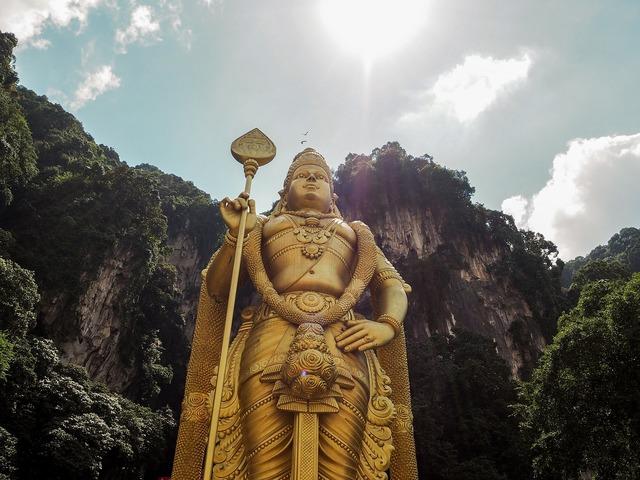 Kuala lumpur batu caves malaysia, travel vacation.