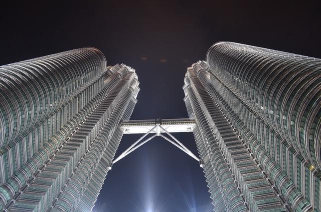 Kuala lumpur petronas twin towers, architecture buildings.