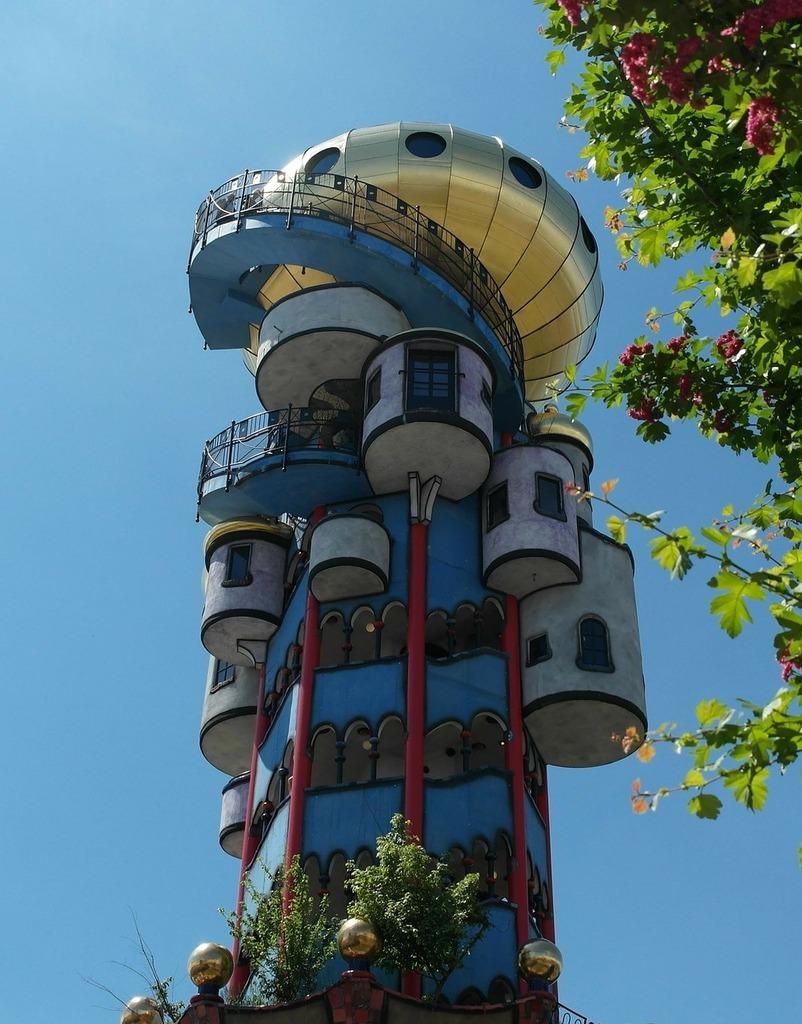 Kuchlbauerturm tower abensberg, architecture buildings.