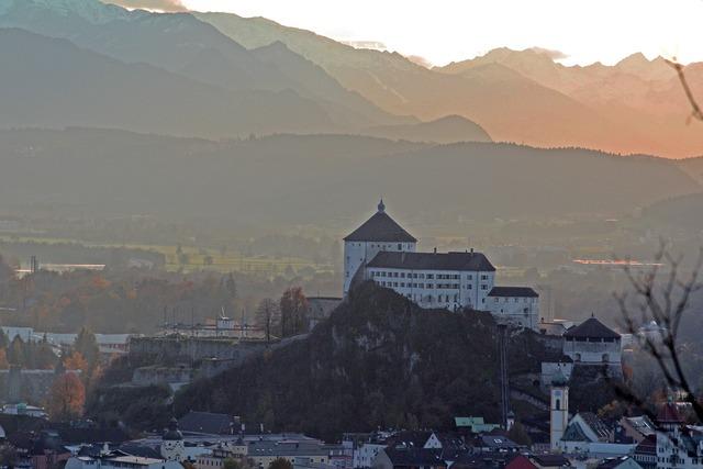 Kufstein tyrol inntal valley.