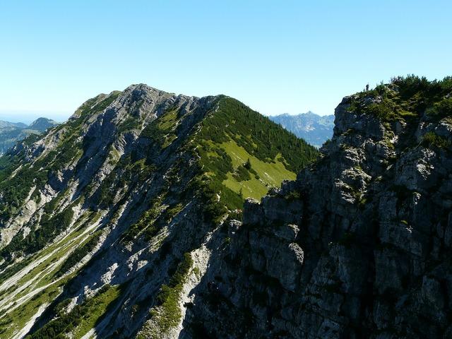 Kühgundkopf austria mountain, nature landscapes.