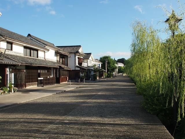 Kurashiki beauty zone tourist destination.